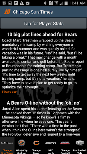 Chicago Bears News By JD