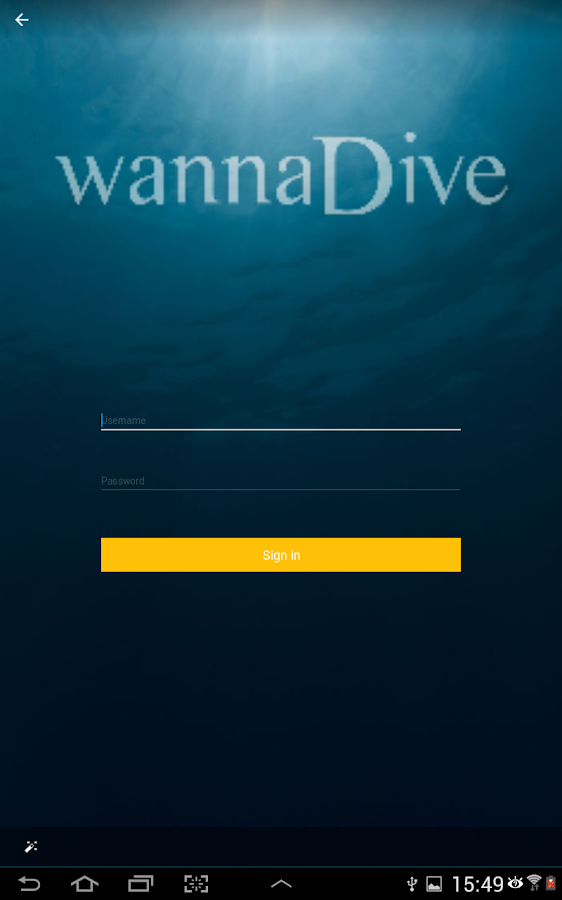 Wannadive - Dive site atlas- screenshot