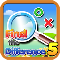 Find the differences 5 icon