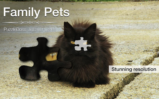 Family Pet Jigsaw Puzzles Demo