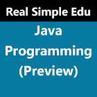 Java Programming (Preview) icon