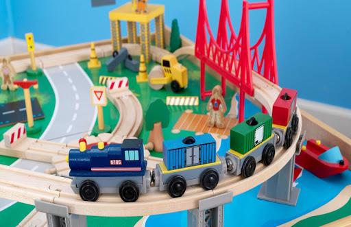 無料解谜Appの赤ちゃん列車セットパズル|記事Game