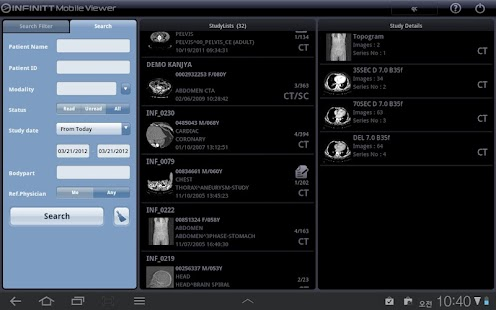 INFINITT Mobile Viewer- screenshot thumbnail