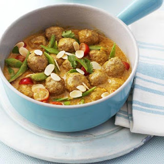 Turkey Meatball Korma.