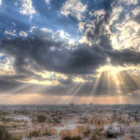 Power Of Light by Yasser Abusen - Landscapes Cloud Formations (  )