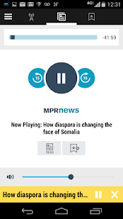MPR News- screenshot thumbnail