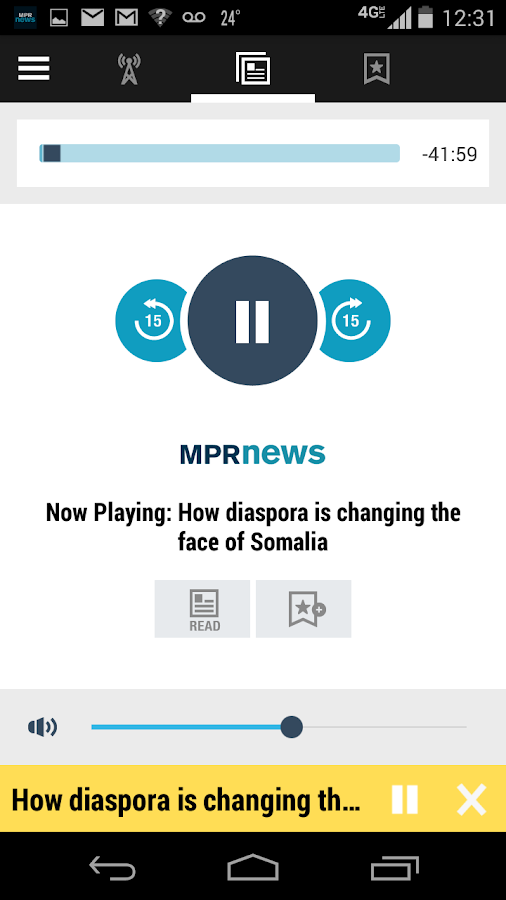 MPR News- screenshot