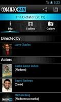 Screenshot of Movie Trailer Fan (PRO)