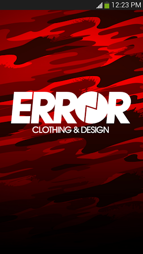 ERR-OR CLOTHING