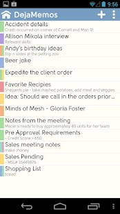DejaOffice CRM - Outlook sync - screenshot thumbnail