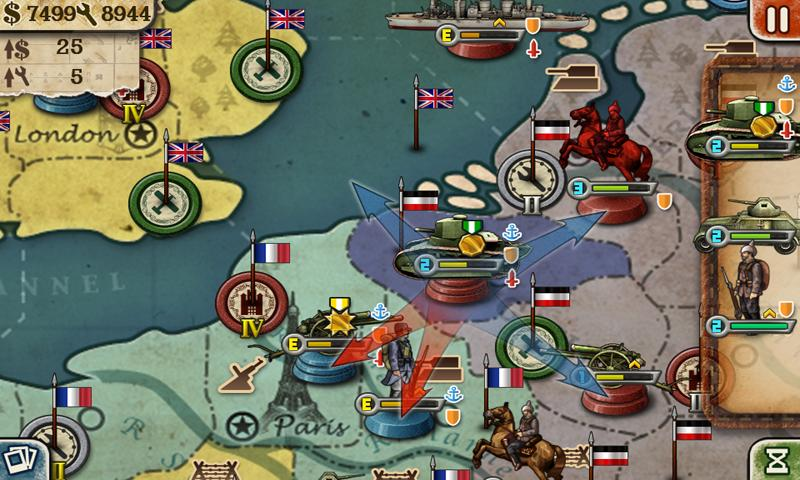 European War 3 - screenshot