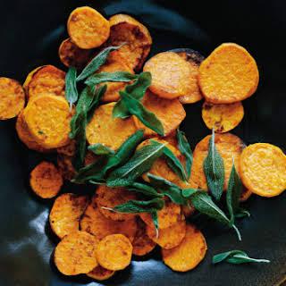 Chili-Lime Sweet Potato Chips.