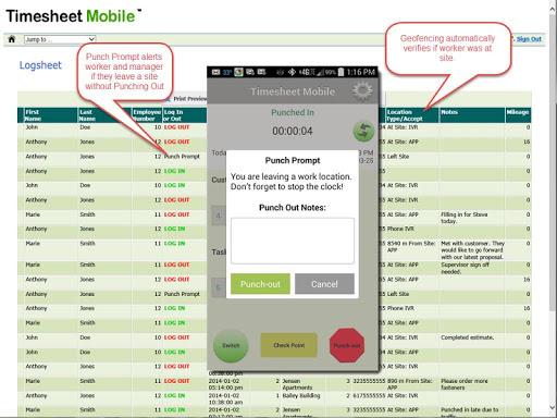 【免費商業App】Employee Time Clock with GPS-APP點子