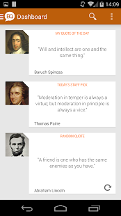 Brilliant Quotes & Quotations- screenshot thumbnail