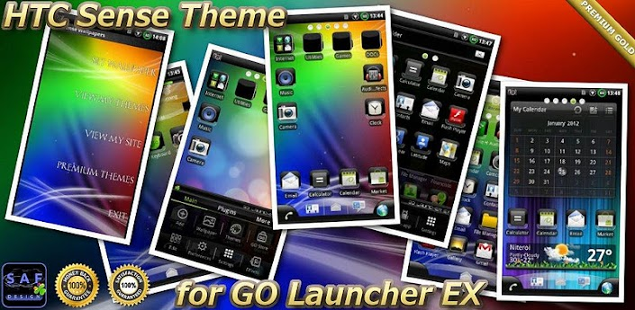 HTC SENSE GO Launcher EX Theme