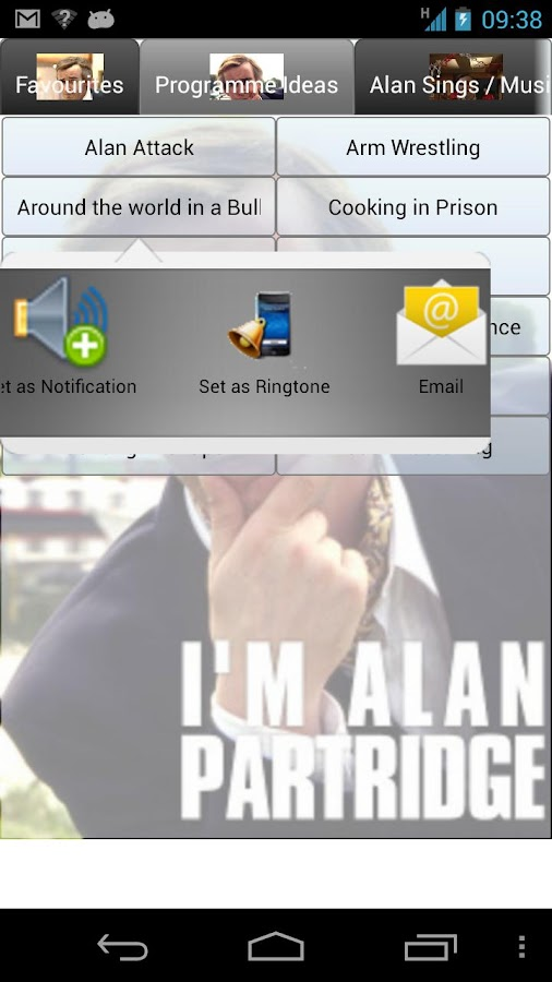 Alan Partridge Soundboard - screenshot