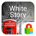 White Story Dodol Locker Theme icon