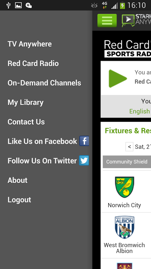 StarHub TV Anywhere - screenshot