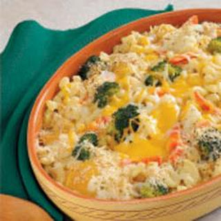 Cheesy Vegetable Medley Casserole
