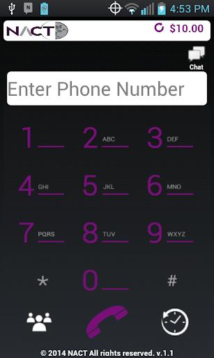 NACT Pinless Plus App