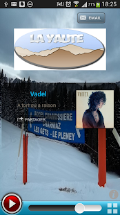 Webradio La Yaute - screenshot thumbnail