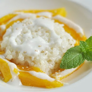 How To Make Thai Mango with Coconut Sticky Rice.