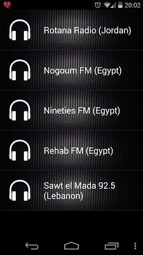 Arabic Radio the most listened