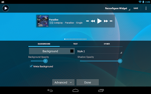 Poweramp Full Version Unlocker - screenshot thumbnail