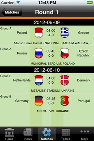EURO Football Fever - screenshot
