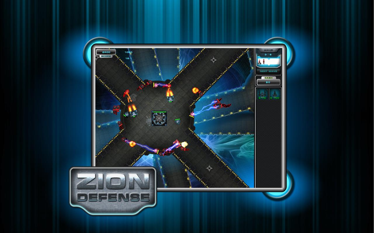 Zion Tower Defense - screenshot
