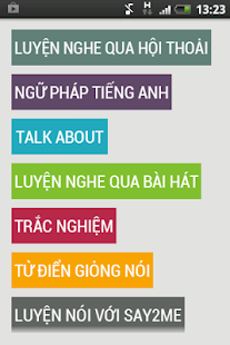 Luyen nghe tieng anh giao tiep