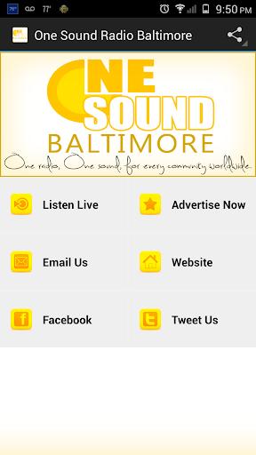 One Sound Radio Baltimore