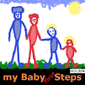 my Baby First Steps Unlock Key logo
