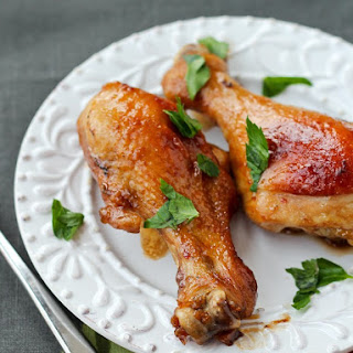 Soy and Honey Glazed Chicken Drumsticks Recipe