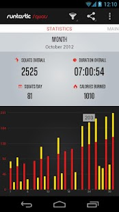 Runtastic Squats PRO - screenshot thumbnail