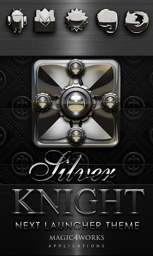 Next Launcher Theme S Knight