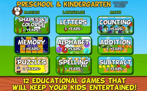 Preschool and Kindergarten