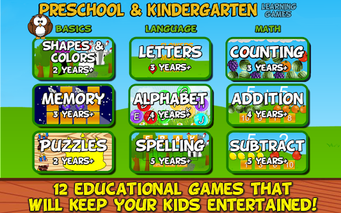 Preschool and Kindergarten- screenshot thumbnail