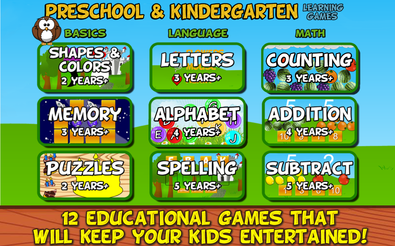 free online video games for 5 year olds