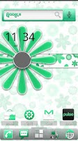 Screenshot of ADW Theme MissDroid Minty