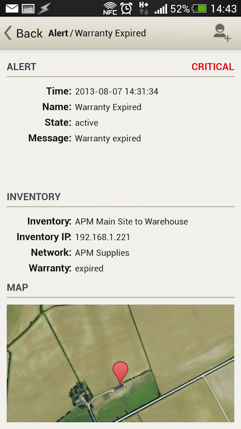 WNMS Mobile- screenshot