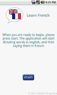 Learn French - Audio- screenshot thumbnail