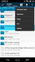 Screenshot of Wifi File Transfer Pro