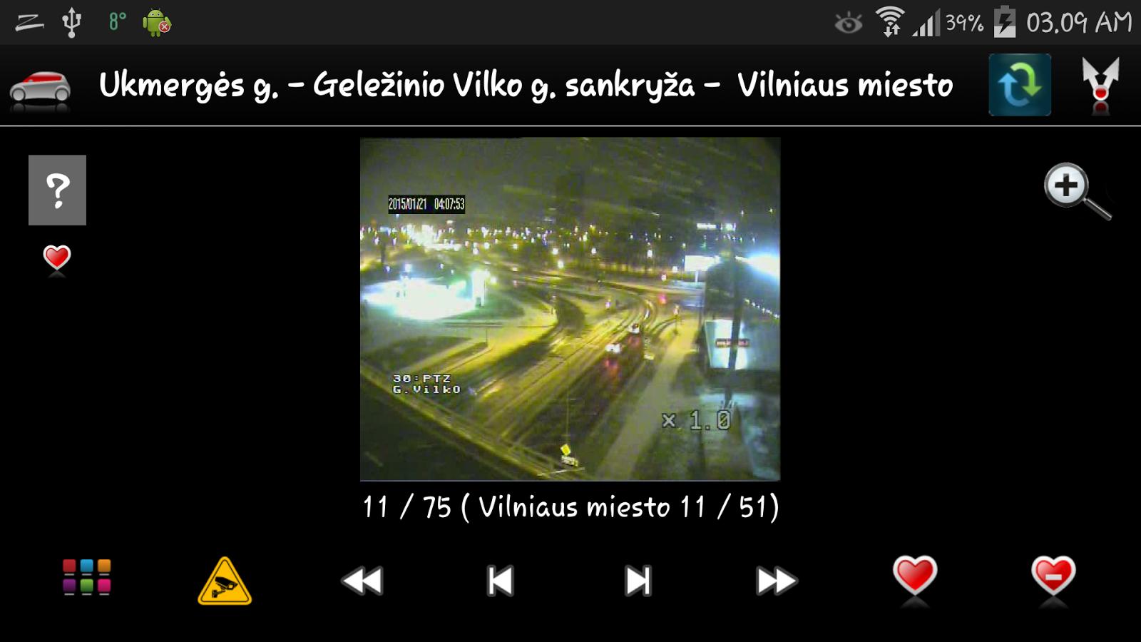 Lietuvos kameros - screenshot