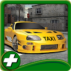 City Taxi 3D Parking Game icon