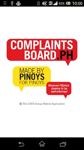 Complaints Board PH