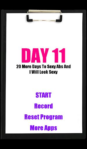 30日性感腹肌锻炼