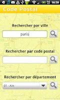 Screenshot of Code Postal - Gratuit