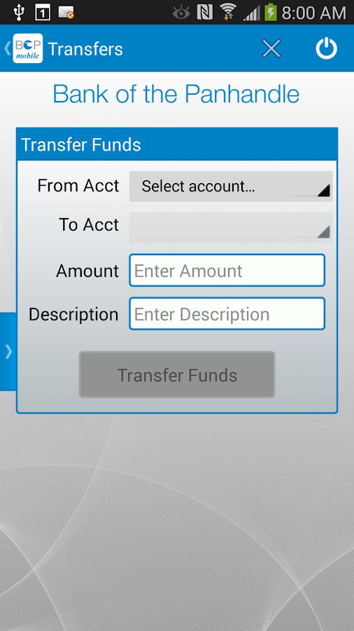 myBOP Mobile Banking - screenshot