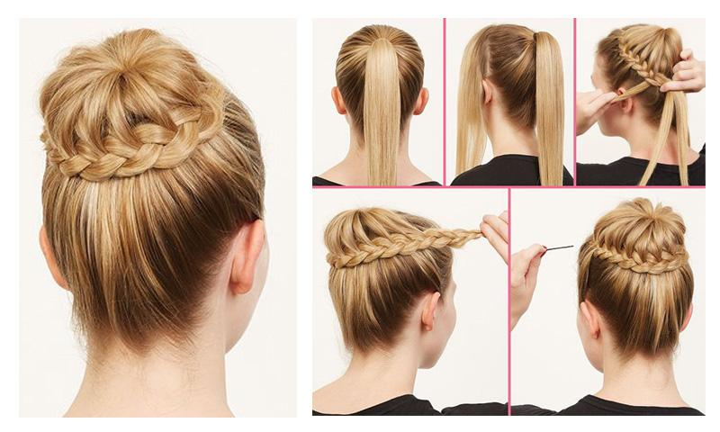 Astounding Girls Easy Hairstyles Steps Android Apps On Google Play Short Hairstyles Gunalazisus